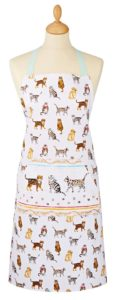 cooksmart cats on parade apron
