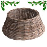 grey rattan christmas tree skirts